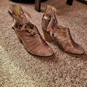 Free people women boot leather size 11